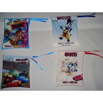 Pack De 12 Bolsitas De Tela Personalizadas X $60