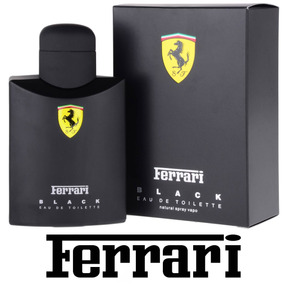 Perfume Ferrari Black 125ml 100% Original - Importado