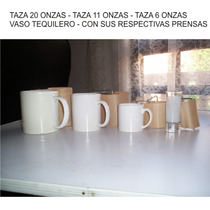 Prensas Cojines Sublima Tazas Platos Vasos Sin Plancha