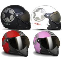 Capacete Moto Peels F21 Navy C/ 2 Viseiras Juntas Promoção 2