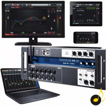 Mesa De Som Digital Soundcraft Ui16 16 Canais Ipad Xr16