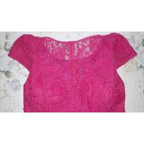 Vestido Madrinha/mãe Da Noiva Rosa Pink Veste M - 40/42