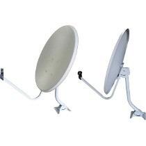 Kit 2 Antenas Banda Ku 60cm Sem Cabo E Lnb.