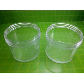 1 Envase/pote De Plástico De 100 Cc Tapa A Rosca