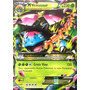Carta Pokemon Mega Venusaur Ex X Y Inglês