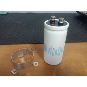 Capacitor Electrolítico 21000uf X 40v Sangamd Usa