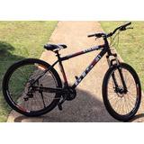 Bicicleta Gts M1 Aro 29 Stilom 2.0 24 Vel. Freio À Disco
