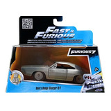 Fast And Furious Jada 1:32 Dodge Charger R/t 1968 Metal Caja