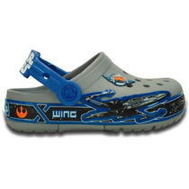 Zapato Crocs Star Wars Xwing Con Luces