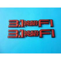 Emblemas 3.1 Multi Port Cutlass Eurosport Cavalier Chevrolet