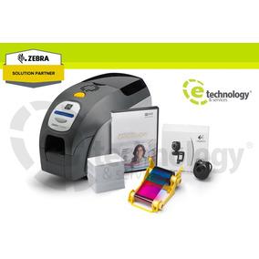 Kit Impresora Pvc Zebra Zxp Series 3 Una Cara