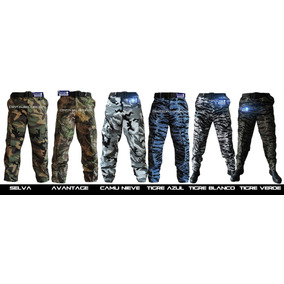 Pantalones Militares Camuflajeados .gotcha .air Soft