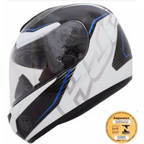 Capacete Hjc Cl-st Injector Azul Mc-2 56/58/60/62
