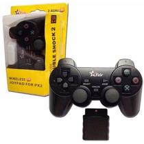 Controle Manete Joystick Ps2 Feir Original S/ Fio Lacrado