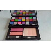 Estojo/kit De Maquiagem Profissional - Sombras 3d - Jasmyne.