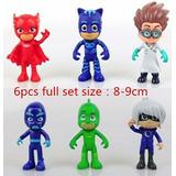 Cajita Con *6 Muñecos* Heroes En Pijama Pj Masks! Hay Stock!