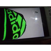 Adidas Gorro Tejido De Lana 100% Original