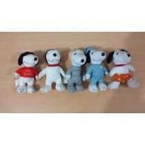 Muñecos Snoopy Colección Mcdonalds