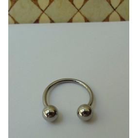Piercing Ferradura 1.2 X 12 Mm Boca Nariz Smile Cartilagem