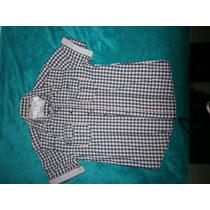 Camisa De Vestir Marca Smk&jeans Talla M