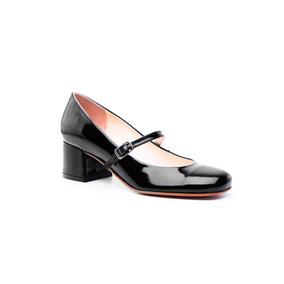 Natacha Zapato Mujer Guillermina Charol Negro #331