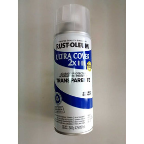 Spray Aerosol Ultracover Rust Oleum Laca Transp Brillante