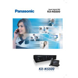 Central Telefonica Panasonic Kx-ns500 Pbx Hibrida Ip- Analóg