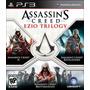 Assassins Creed Ezio Trilogy Ps3 Original Nuevo Disco Físico
