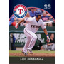 Cl27 Luis Hernandez #111 Produccion Nacional 2016 Rangers