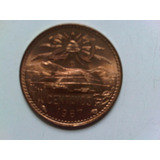 20 Centavos De Cobre Moneda Mexicana 1967 Sin Circular