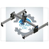 Equipo Completo Cnc 1000x1000x300 Corte Efectivo: 80x80x15cm