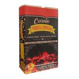 Embalagem Papel Para Carvão 5kg Saco Briquete Lenha - 100un