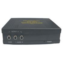 Distribuidor De Video Composto+audio 1-in X 2-out - Dv120