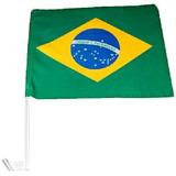 Bandeira Do Brasil - Bandeirinha Para Carro - Copa Do Mundo