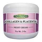 Crema Anti Arrugas Con Colageno Y Placenta Enriquecido
