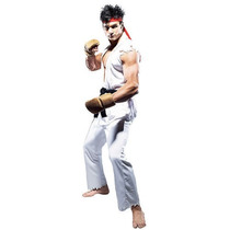 Roupa Cosplay Street Fighter Costume Karate Ryu Ps