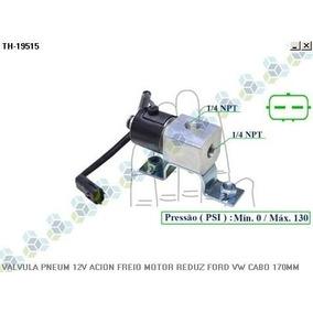 Valvula Pneumatica 12v Acionamento Freio Motor Ford Cargo