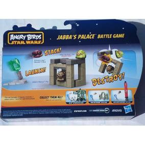 Juego De Angry Birds Star Wars Palacio De Jabba Con Lanzador