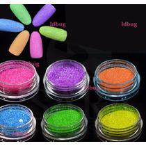 Glitter Decoracion Para Uñas 12 Colores