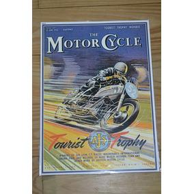 Moto Ajs Tourist Trophy Preciosa Lamina Coleccionable