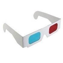 Oculos 3d Ciano E Vermelho - Serve Para Youtube - Leilão
