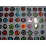 Lote 64 Tazos De Coleccion Angry Birds Nuevos Diferentes