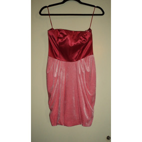 Vestido Coral Strapless Juicy Couture