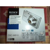 Camara Digital Sony Cyber Shot Dsc W610 14.1 Mpx Zoom 4x Lc