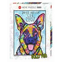 Rompecabezas Jolly Pets Perro 1000 Piezas
