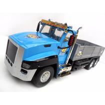 Caminhão Carrinho De Controle Carreta Scania