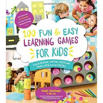 Libro 100 Fun & Easy Learning Games For Kids: Teach Reading