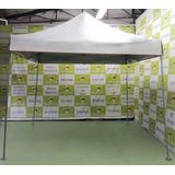 Tenda Ultraleve 3x3 Pantográfica Sanfonada Orvalhodosol