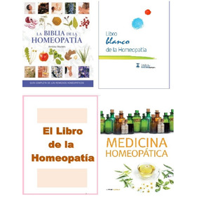 Libros De Homeopatia En Pdf: Medicina Alternativa, Pack
