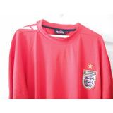 Camiseta A1 Fútbol Selección Inglaterra Talla 16-18 Franela